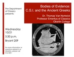 Bodies of Evidence: C.S.I. and the Ancient Greeks by Thomas Van Nortwick