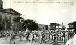 Marching Band on the Square by J. R. Cofield