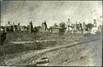 Ruins of the Oxford Courthouse by J. R. Cofield