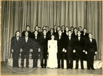 Formal group photo with Laura Martin by J. R. Cofield