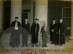 Elderly school officials by J. R. Cofield