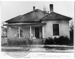 Faulkner's birthplace in New Albany, MS by J. R. Cofield