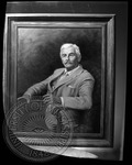Oil painting of William Faulkner by J. R. Cofield