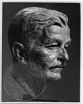 Bust of William Faulkner by J. R. Cofield