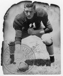 Portrait of football player, image 3 by J. R. Cofield
