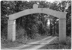 Old gates to the Confederate Soldier's Cemetery by J. R. Cofield