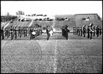 Ole Miss marching band on the football field, image 2 by J. R. Cofield
