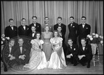 Formally dressed group of students by J. R. Cofield