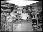 Gathright-Reed Drugstore interior by J. R. Cofield