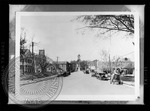 View looking toward the courthouse, early 20th century by J. R. Cofield