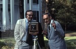 Portrait of Colonel J. R. and Jack Cofield with camera, image 7 by Walt Mixon