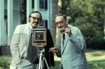 Portrait of Colonel J. R. and Jack Cofield with camera, image 8 by Walt Mixon