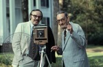 Portrait of Colonel J. R. and Jack Cofield with camera, image 10 by Walt Mixon