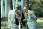 Portrait of Colonel J. R. and Jack Cofield with camera, image 11 by Walt Mixon