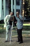 Portrait of Colonel J. R. and Jack Cofield with camera, image 9 by Walt Mixon