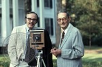 Portrait of Colonel J. R. and Jack Cofield with camera, image 14 by Walt Mixon