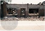 Building destruction after fire, image 1 by J. R. Cofield