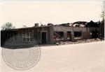 Building destruction after fire, image 2 by J. R. Cofield