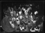 Pajama party, pep rally on campus, image 1 by J. R. Cofield