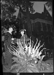 Chancellor J. D. Williams at a ceremony by J. R. Cofield