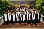 Croft Class of 2011 by University of Mississippi. Croft Institute for International Studies