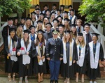 Croft Class of 2015 by University of Mississippi. Croft Institute for International Studies