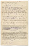 Invoice from Gullett Gin Co., 1 July 1898 by Prospect Hill Plantation