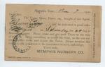 Insert from Pamona Hill Nursery, 11 November 1900 by Prospect Hill Plantation