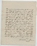 Contract between B. H. Wade and Bristor James, 23 January 1890 by Prospect Hill Plantation