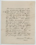 Contract between B. H. Wade and Cornelius Rhenfro, 23 January 1890 by Prospect Hill Plantation