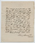 Contract between B. H. Wade and Alex Brown, 24 January 1890 by Prospect Hill Plantation