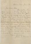 James E. Edmonds to Alice Weeks (1 June 1886) by James E. Edmonds