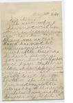 James E. Edmonds to Alice Weeks (13 May 1889) by James E. Edmonds