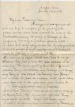 James E. Edmonds to Major & Mrs. J. E. Edmonds (15 October 1896) by James E. Edmonds