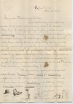 James E. Edmonds to Major & Mrs. J. E. Edmonds (20 November 1896) by James E. Edmonds