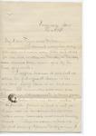 James E. Edmonds to Major & Mrs. J. E. Edmonds (8 February 1897)