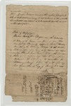Document: Bill of Sale From Daniel Vertier to Thomas Brockhurst Barclay and George P. Barclay. January 1, 1821. by Daniel Vertreir and Thomas Brockhurst