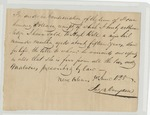 Bill of sale from Jas. B. Campbell to Hugh Bell for a slave named Martha. June 3, 1828. by James B. Campbell and Hugh Bell