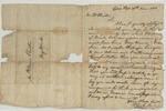 Elijah J__ith of Gibson Port to William Christie of Big Black. June 18, 1812. by Elijah (Unknown) and William Christie