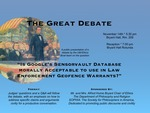 Is Google's Sensorvault Database morally acceptable to use in law enforcement geofence warrants?