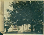 View of George Peabody Building from the Lyceum front porch by Author Unknown