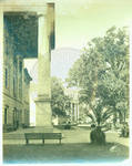 Gordon Hall with Old Chemistry in the distance by Author Unknown
