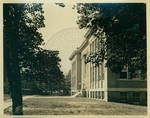 George Peabody Hall and a portion of The Lyceum by Author Unknown