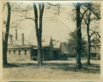 The Infirmary with a portion of the powerhouse and Gordon Hall by Author Unknown
