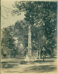 The Confederate Statue with The Lyceum in the distance by Author Unknown