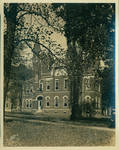 Ventress Hall with a corner of the Croft Institute of International Studies and Barnard Observatory by Author Unknown