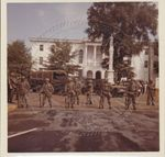 National Guardsmen on the Oxford, Mississippi Square by Russell H. Barrett