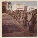 National Guardsmen on South Lamar Blvd. by Russell H. Barrett