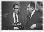 Russell H. Barrett with friend by Steve Elkins