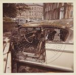 Burned Cars after Riot by Russell H. Barrett